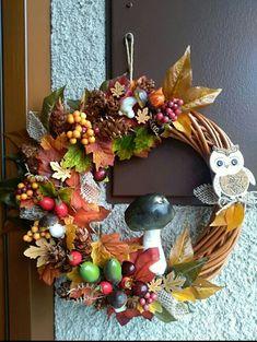 Christmas Wreaths, Holiday Decor, Fall, Home Decor, Decorating, Autumn, Crafting, Decoration Home, Fall Season