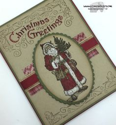 Father Christmas 4 - Stamps-N-Lingers