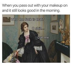 Nothing gets your day going like a hot mess of memes. These memes are as random and relatable as they are funny. Start your morning off with a laugh. Satire, Classical Art Memes, Memes Of The Day, History Memes, Art History, Funny History, Nurse Humor, Up Girl, Funny Cute