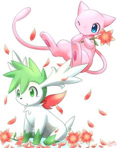 Shaymin and Mew