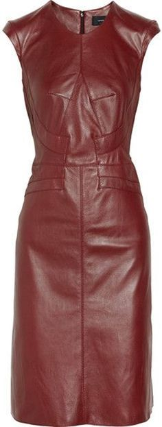 Derek Lam Leather Dress -ShazB