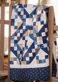 Jacob's Ladder Quilt - Basic Quilt Patterns