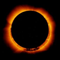 Ring of Fire  - UNM pictures of solar eclipse