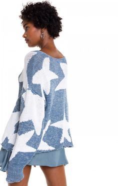 WILDFOX - Lucky Stars Phantom Sweater All Fashion, Everyday Fashion, Winter Fashion, House Of Blouse, Lucky Star, Wildfox, Well Dressed, Dress To Impress, Boho Chic