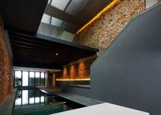 Designed in collaboration between FARM and KD Architects, the Pool Shophouse in Singapore is a converted shophouse from the 1920s.