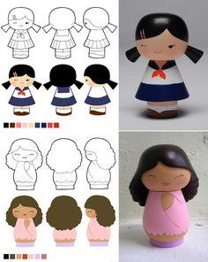 Momiji Dolls 3 by ChocolatePixel on DeviantArt