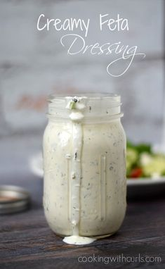 recipe: creamy feta salad dressing [22]