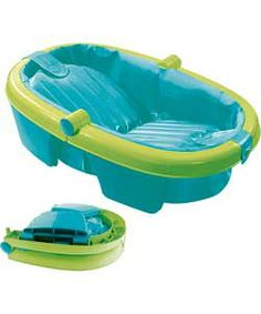 Summer Infant Newborn to Toddler Fold Away Baby Bath.  £16.99  Like the fold-ness