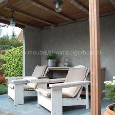 Deze kwaliteit loungestoel van steigerhout is van meubelen van steigerhout uit Huizen, gemaakt van de echte steigerplanken. Duurzaam en mooie kwaliteit. Mooie sterke loungestoel  van gebruikt steigerhout. Duurzaam steigerhout.