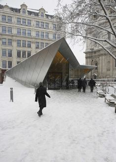 City of London Information Centre,Courtesy of Make Architects