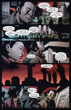 Bruce visiting Jason's grave. this is heartbreaking ok?! Especially how he's listing all Jason's favorite things....awwwww