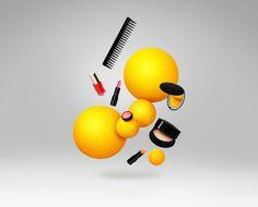 K-Plussa by BOND , via Behance | #yellow #Pantone109