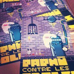 #paphù #poster #affiche  plus d'infos sur http://www.paphu.com