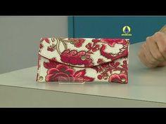 Vida com Arte | Carteira em dobradura por Elisandra Sobral - 27 de maio ...