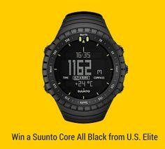 Win a Suunto Core All Black from U.S. Elite