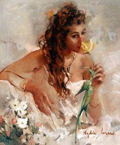 # WOMEN IN ART BY Nydia Lozano