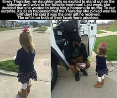 Faith In Humanity Restored – 14 Pics - Daily Lol Pics Happy Stories, Cute Stories, Sweet Stories, Beautiful Stories, Funny Quotes, Funny Memes, Truck Quotes, Leadership, Human Kindness