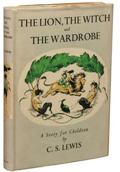 C.S. Lewis: The Lion, the Witch and the Wardrobe, first edition via Manhattanrarebooks