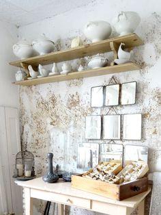 Ein Blog über Wohnen Und Leben Im Französischen Shabbychic,nordischen  Shabbystil, Alte Möbel, Weiss, Französisches Keramik | Shabby Chic |  Pinterest ...