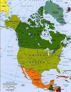 Вокруг света с детьми.: Северная Америка. Notrh America