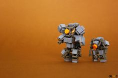 """""""Space Troopers SB-3 and SB-1 drone"""" by Devid VII: Pimped from Flickr"""