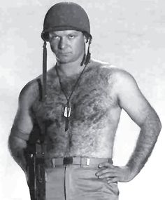 Actor Aldo Ray appeared in many A and B movies during his 40 year career in films. Visit Brian's Drive-In Theater for biography and filmography information, photos, DVD sources, and more for actor Aldo Ray. Rodrigo Santoro, Paul Burke, Aldo Ray, Navy Uniforms, Hottest Male Celebrities, Fantasy Male, Hairy Chest, Classic Hollywood, Hollywood Men