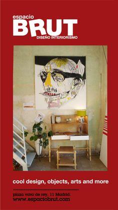 Seguimos haciendo RUIDO.   RUIDO II by Davis. Obra sobre papel. Madrid, Bed, Furniture, Home Decor, Space, Paper Envelopes, Interiors, Decoration Home, Stream Bed