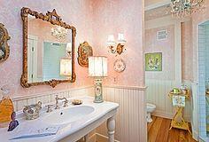 Plays Imaginative Kids Bathroom Decor:Beauty Pinky Kid Bathroom Decor Free Download Photo Of Kid Bathrooms Decor Pastel Bathroom, Kid Bathroom Decor, Kid Bathrooms, Vintage Bathrooms, Dream Bathrooms, Bathroom Colors, Bathroom Wall, Bathroom Interior, Maine Cottage