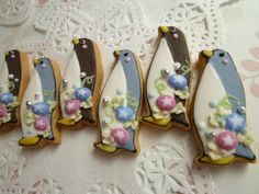 Penguin cookies - absolutely gorgeous!