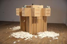 Jose Carlos Martinat's 'Brutalism: Stereo Reality Environment (2007)