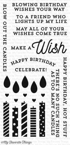 My Favorite things:  Make a Wish