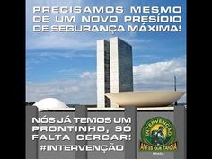 Só sei que queremos  Intervenção TV Ban Brasil AÇÃO Noticia: Intervenção...