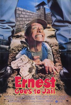 Ernest Goes to Jail 11x17 Movie Poster (1990)