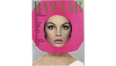 Art direction: Ruth Ansel and Bea Feitler. Cover photograph by Richard Avedon., Cover of Harper´s Bazaar, April 1965,