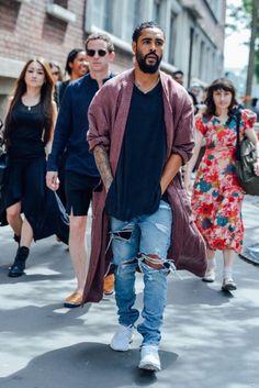 Fresh men's street style