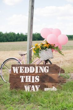 Cute sign: http://www.stylemepretty.com/2015/04/21/rustic-chic-farmhouse-wedding/ | Photography: Katelyn James - http://katelynjames.com/