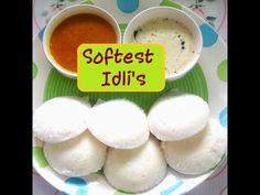 Best Soft & Spongy Idli Recipe | Perfect Idli-Dosa Batter | Traditional ...