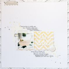 The cake - scrapbooking layout by Veera