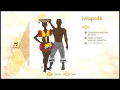 trajes tipicos de colombia - YouTube