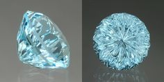 This is where it all began. A beautiful aquamarine cut by an amazingly talented gemstone cutter John Dyer. It is a starbrite cut, which I fell in love with the second I first saw it. I HIGHLY recommend taking a look at his webpage if you are in the mood for awesome sparkly things! http://www.johndyergems.com/