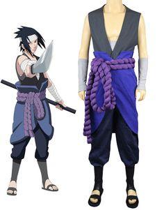Naruto Uchiha Sasuke Halloween Cosplay Costume