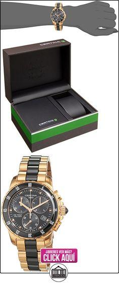 Certina  - Reloj  de Cuarzo para Mujer, correa de Acero inoxidable color Multicolor  ✿ Relojes para mujer - (Lujo) ✿ ▬► Ver oferta: http://comprar.io/goto/B00CAX9FQU