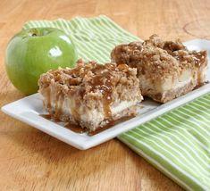 Caramel Apple Cheesecake Bars - originally a Paula Deen Recipe