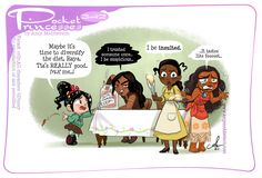 Pocket Princess Comics, Pocket Princesses, Disney Princesses, Disney Characters, Disney Princess Art, Disney Art, Disney Stuff, Disney And Dreamworks, Disney Pixar