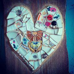 Wedding gift for childhood friend  #mosaic #heart #wedding #handmadegifts #ngmozaik