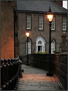 The Custom House ~ Berwick upon Tweed | Flickr JoPoBePo. Berwick is the most Northerly town in England, then you are in Scotland!
