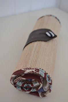 DIY Pinselrolle fürs Malen Napkin Rings, Decor, Accessories, Brushes, Draw, Creative, Decoration, Decorating, Deco