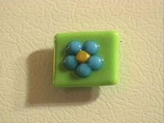 Fused Glass Flower Magnet : Decorating : Home & Garden Television