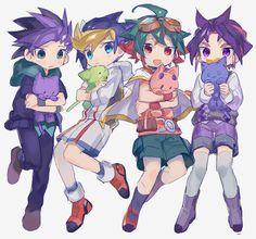 Yuto, Yugo. Yuya and Yuri