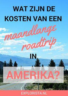 Wat zijn de kosten voor een maandlange roadtrip door de westkust van Amerika? Ik laat je zien wat ik uitgaf.
